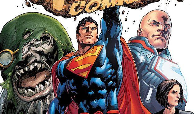 Action cómics: ¿Quién es el nuevo protector de Metrópolis?