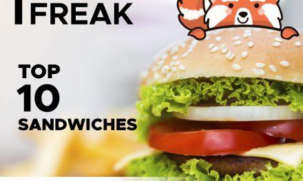 TOP 10 Sándwiches de La Ruta para un hambriento Freak