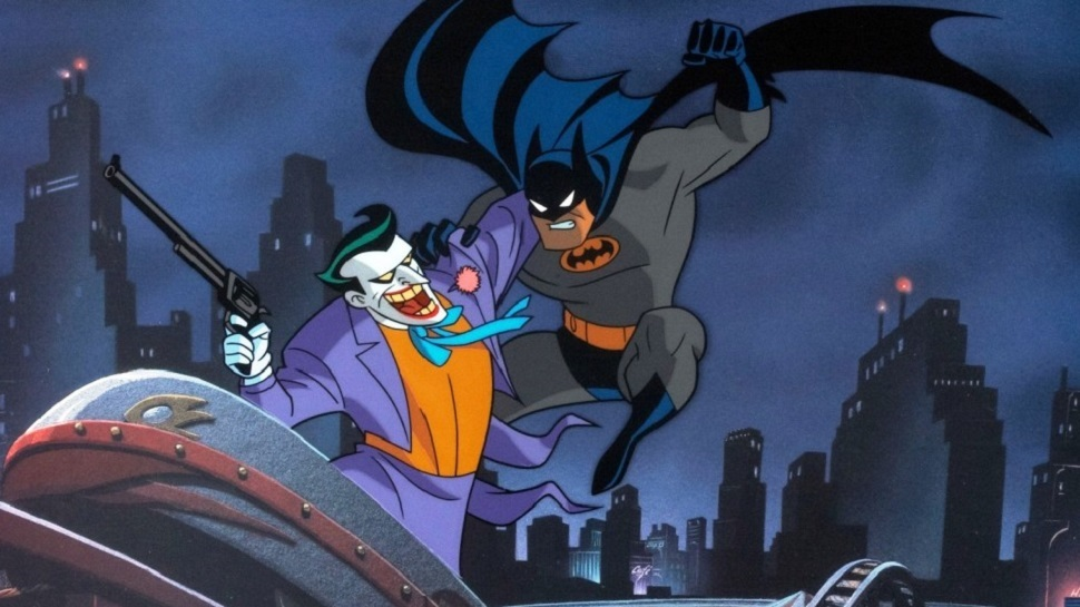 La versión remasterizada de Blu-ray de Batman: La serie animada