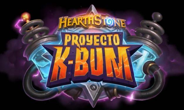 Proyecto K-Bum llega Hearthstone