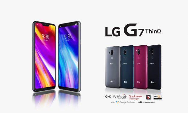 Inteligencia Artificial de la mano de LG G7 ThinQ