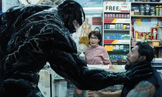 Afiche para Imax e informaciones importantes de Venom
